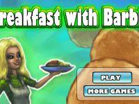 Frühstück mit Barbie