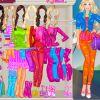 Barbie bunt Bekleiden